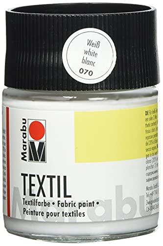 Pintura Textil Blanca Marca Marabu