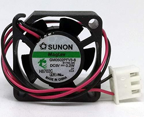 Sunon GM0502PFV3-8 - Ventilador silencioso de levitación magnética (5 V, 0,2 W, 2510)
