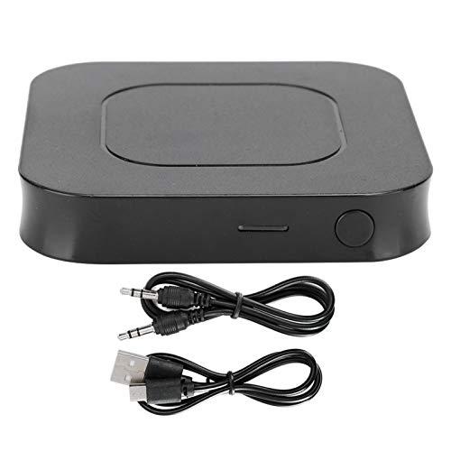 Adaptador de Receptor de Transmisor de Audio Bluetooth 5.0, Adaptador de Asistencia de Agujero de Audio Inalámbrico 2 en 1 de 3,5 mm