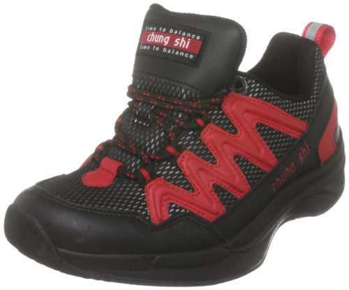 ME & Friends AG Chung Shi Balance Step Magic schwarz/rot Damen 9101000-3,0, Damen Sportschuhe - Walking, schwarz, (black/red), EU 35.5, (US 5), (UK 3)