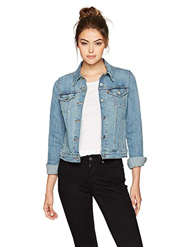 Levi's Women's Original Trucker Jacket, Jeanie, Large