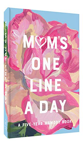 Mom's Floral One Line a Day: A Five-Year Memory Book
