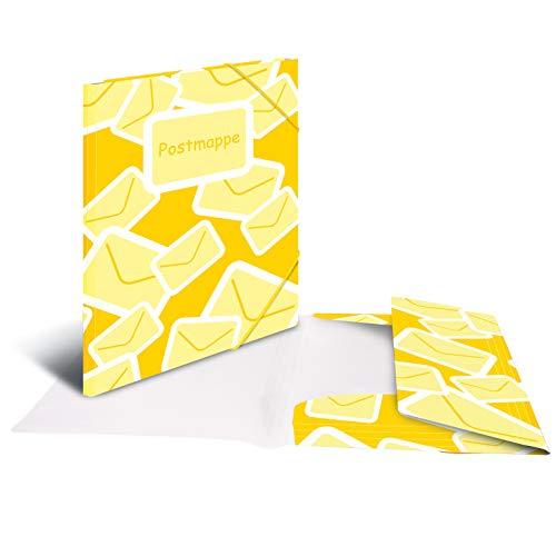 HERMA 7129 Postmappe DIN A4 in gelb aus...