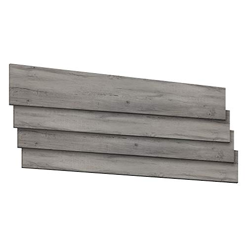 Schnell   Design Vinylboden Basic Designboden Holzoptik Dielenformat Klicksystem Stärke 4,0mm Nutzschicht 0,3mm NKL 23/31 Wasserresistent   1 Paket = 2,81m²   Rustic Grau