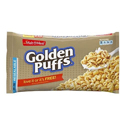 Malt-O-Meal Golden Puffs Breakfast Cereal, 33.8 Oz. Bag