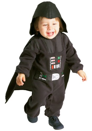 Costume Déguisement Star Wars Darth Vader Pour Bébé Taille 12-18 Mois