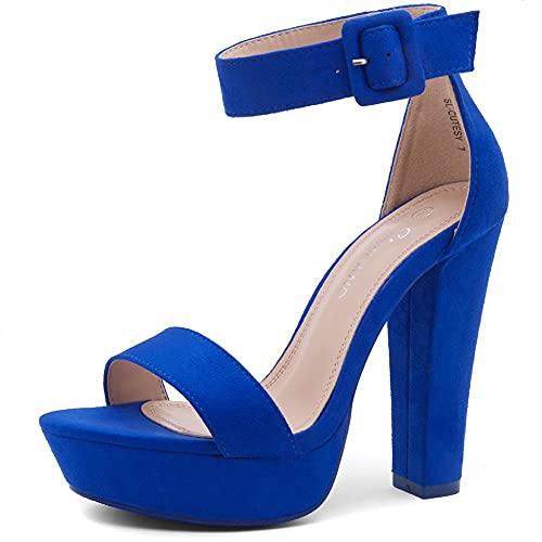 Sandalias Con Plataforma  marca Shoe Land