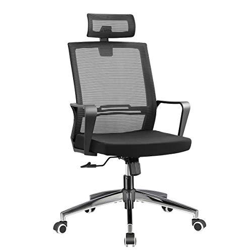Office Chair High Back Executive Computer Desk Chair, Adjustable Tilt Angle...