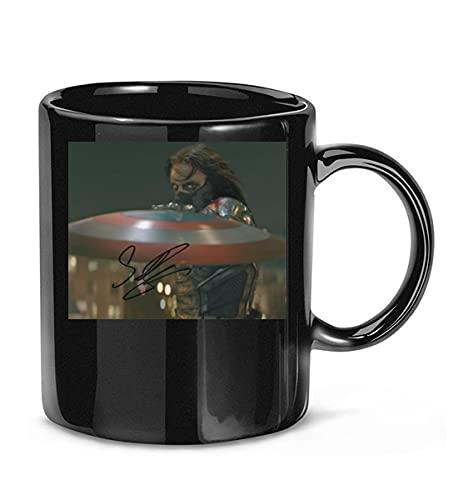REPHIEXUAKEY #Sebastian Stan The #Martian Signature Coffee Mug for Women and Men Tea Cups