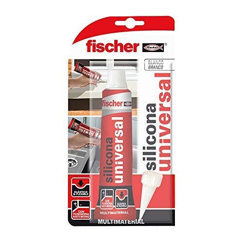 fischer 098718 silicona blanca, Formato bote bricolaje
