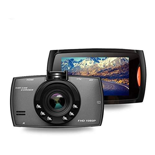 QXHELI Autokamera 2,7-Zoll-HD-Bildschirm Dash Cam Für Autos Full HD 1080P Recorder Fährt Loop Recording Nachtsicht Motion Detection Parkplatz Monitor-G-Sensor