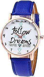WhiteswanauLeather Strap Quartz Fashion Watch F615-A Women's Watches Ladies Wristwatch Top Brand Luxury Girl Quartzwatch F615