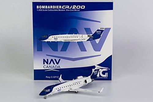 NG Model NGM52035 1:200 NAV Canada CRJ-200ER Reg #C-GFIO (pre-Painted/pre-Built)