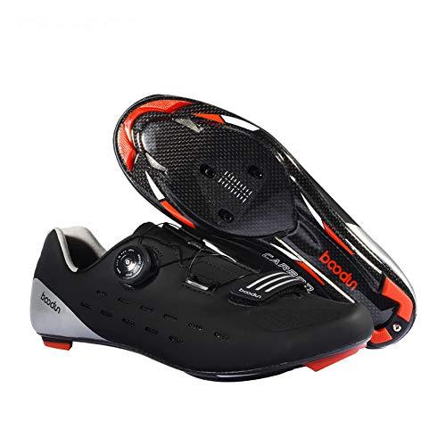 CHD Zapatillas De Ciclismo para Bicicleta Al Aire Libre Antideslizante Resistente Desgaste...