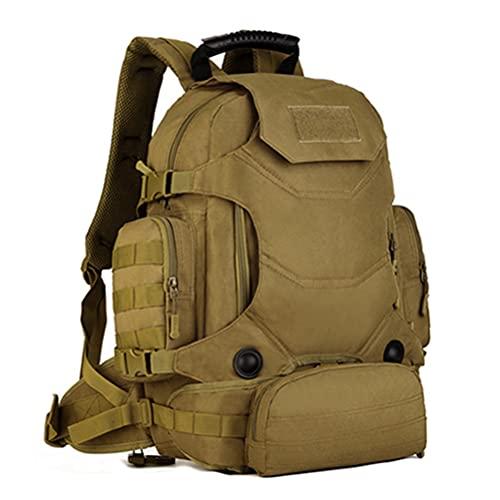KIUY Mochila táctica, 40L 3 en 1 para hombre, mochila táctica de la cintura, combinación, montañismo, viajes, senderismo