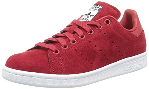 adidas Damen Stan Smith W Sneakers, rot Power Red/FTWR weiß, 38 2/3 EU