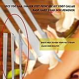 3 pièces en acier inoxydable orteil ongles rasoir pieds pédicure couteau Kit pied callosités râpe fichier dur peau morte dissolvant outils de soins des pieds