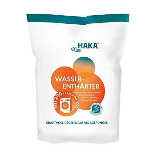 HAKA Wasserenthärter Hakamin I 2 Kg I Wasserentkalker zur...