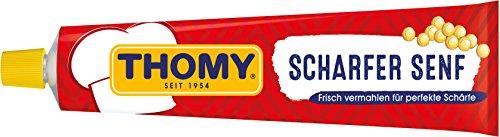 Thomy scharfer Senf, 12er Pack (12 x 200 ml)