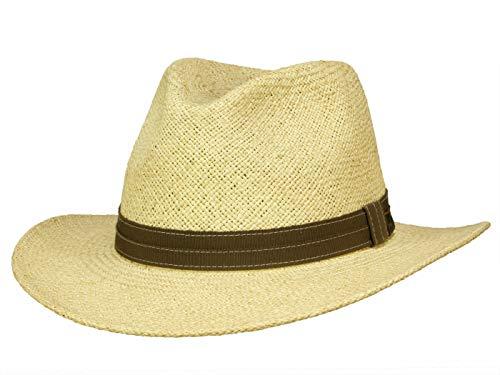 Chapeau Andrew Farmer Panama Mayser chapeau de paille panama (56 cm - nature)