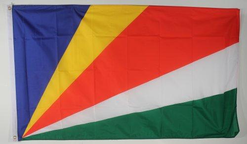 Flagge Fahne ca. 90x150 cm : Seychellen Nationalflagge Nationalfahne
