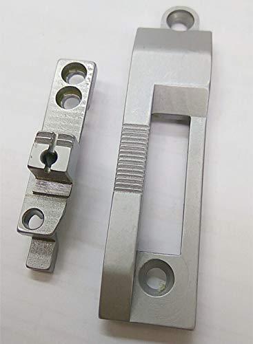 Encuadernación de la garganta de la placa de alimentación del perro para Durkopp Adler 267 máquina de coser de una sola aguja
