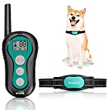 RICHDOG Dog Training Collar - Waterproof Dog Shock Collar with Remote Range Up to 1000ft, 1~99 Levels Beep, Vibration, Shock Modes, Rechargeable Dog Collar for Large Medium Small Dogs, Safe ((L))