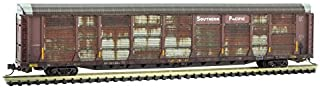 Micro-Trains 11144310-89' Tri-Level Autorack, Southern Pacific Weathered - N Scale