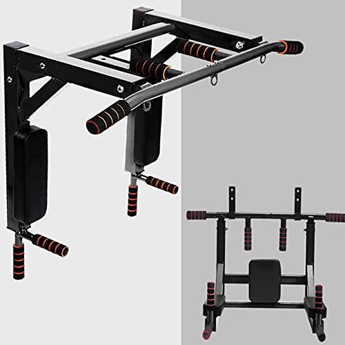 Barras de Dominadas Pared, Wall Pull Up Bar Barra de Tracción, Boxeo TRX Entrenamiento y Resistencia Training, Multifuncional Workout Bar