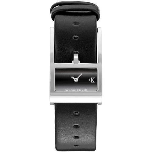 Calvin Klein K8721126 - Reloj analógico de Cuarzo para Hombre con Correa de Piel, Color marrón