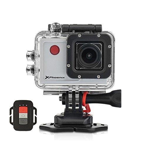 Phoenix Xsport camcorder met geïntegreerde flash-geheugen/1 GB geheugenkaart