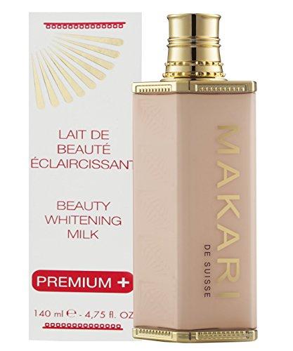 Makari Extrême Premium Plus Lait de Beauté Éclaircissant 4.75 fl.oz Action ultra éclaircissante pour le corps - Soin hydratant quotidient anti-taches, cicatrices acnéiques et hyperpigmentation.
