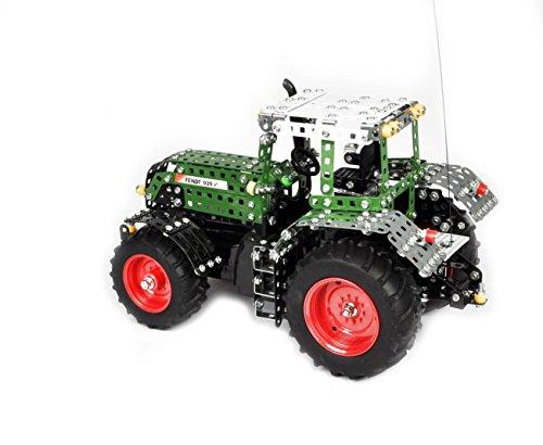 RC Auto kaufen Traktor Bild 3: Tronico 10070 - Metallbaukasten Traktor Fendt 939 Vario mit Fernsteuerung, Profi Serie, Maßstab 1:16, 790-teilig, grün*