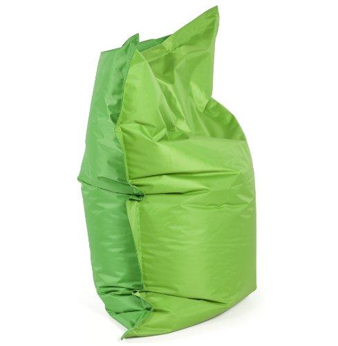 Alterego - Pouf 'LAZY MINI' vert/vert 130x100cm