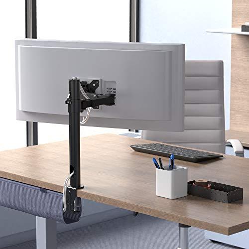 Amazon Basics - Einzel-Monitorständer, höhenverstellbar, Stahl
