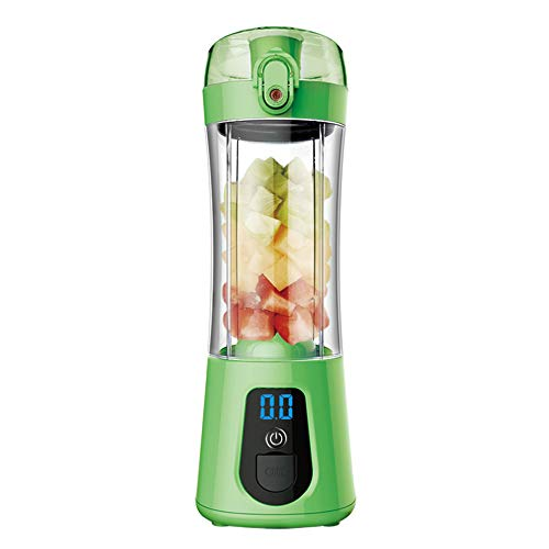 Buy Bargain Ddl Portable Electric Juicer Cup, USB Rechargeable Electric Automatic Vegetable Juice Ma...