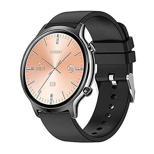 ZGZYL FT18 Ladies Smart Watch, Rastreador De Actividad IP68 Reloj Impermeable, Reloj De Fitness Masculino Y Femenino con Monitor De Ritmo Cardíaco para iOS Android Smart Watch,F