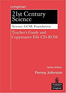 Science for 21st Century GCSE Single ScienceFoundation Teachers Guide &Copymasters on CD