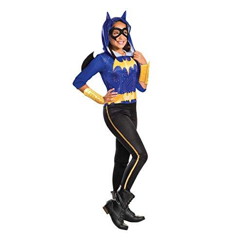 DC Comics - Disfraz de Batgirl licencia oficial para niña, infantil talla 5-6 años (Rubie