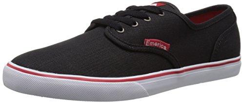 Emerica Mens Footwear Emerica Herren Wino Cruiser, schwarz/schwarz, 36.5 EU