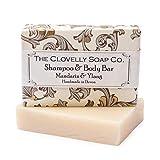 Clovelly Soap Co Natürliche handgemachte Haarseife Mandarine & Ylang-Ylang für normales bis...