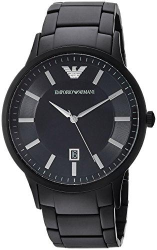 Emporio Armani Heren Analoog Quartz Horloge met RVS Band AR11079