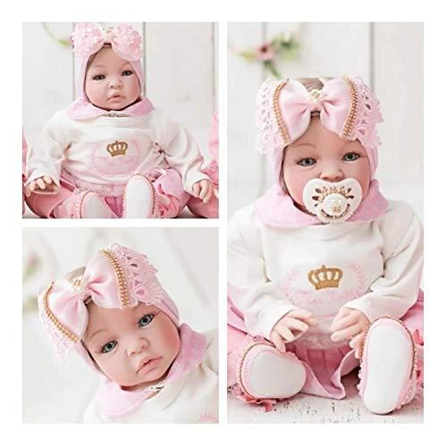 bebê reborn em silicone realista com 21 itens inclusos roupas