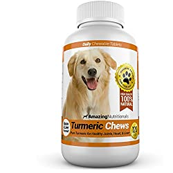 Amazing Nutritionals Turmeric Chews for Dogs