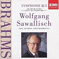 Brahms: Symphony 3 in F Op. 90, Academic Festival Overture Op. 80