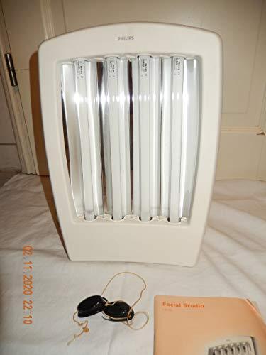 PHILIPS HB 172 Gesicht Brauner (Facial Tanner) Solarium mit 4 UV Lampe, Timer UV Brille, geprüft, in TOP Zustand