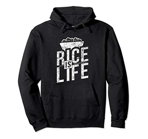 Filipino Gifts - Rice Is Life Pullover Hoodie
