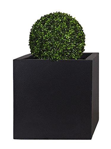 Pflanzwerk® Pflanzkübel Cube Anthrazit 30x34x34cm *Frostbeständig* *UV-Schutz* *Qualitätsware*