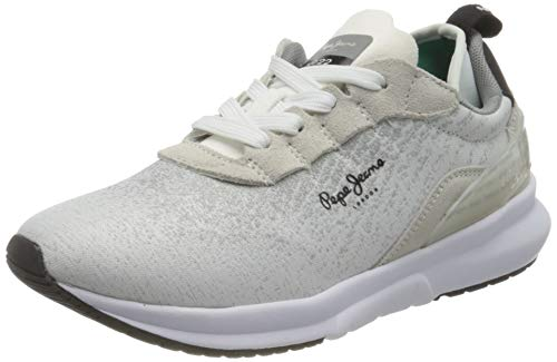 Pepe Jeans London Damen Nº22 Winter 20 Woman Sneaker, 800WHITE, 42 EU