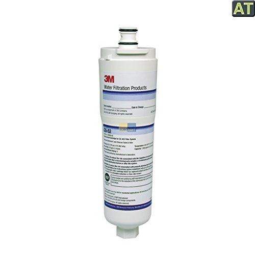 3M CS-52 Wasserfilter Filter Wasser intern Kartusche Patrone Side-By-Side Kühlschrank US-Kühlgerät auch wie Solitaire Küppersbusch 438339 Bosch Siemens Balay Neff 00311020 640565 00640565
